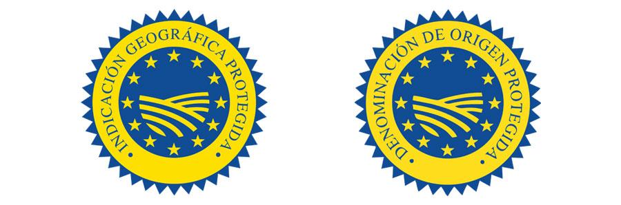 sellos de denominaciones de origen protegidas e indicaciones geográficas protegidas
