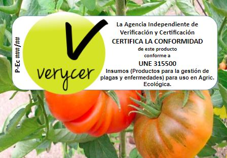 imagen de la noticia: Certificación de insumos ecológicos UNE 142500 UNE 31550 UNE 66500